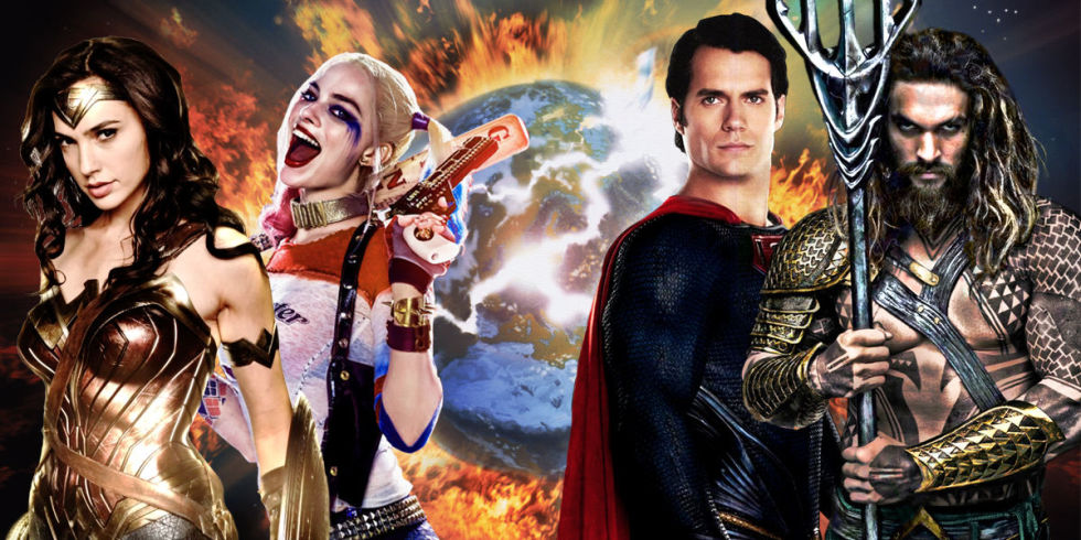 All the DC movies coming in 2017, 2018 and beyond