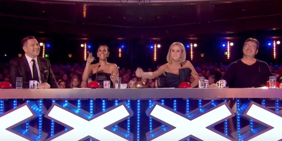 Amanda Holden Golden Buzzer, Britain's Got Talent