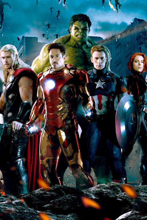Films: 2 / Total:$2,924,216,682 1. Avengers Assemble (2012) -$1,518,812,9882. Age of Ultron (2015) -$1,405,403,694