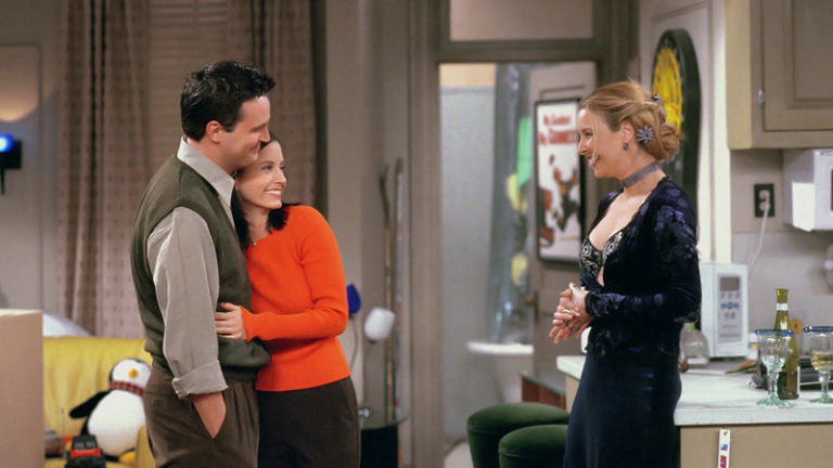 Everyone knows Monica and Chandler are dating, but they won't admit it – so Phoebe forces him to take her on a date. Genius premise, brilliantly delivered.