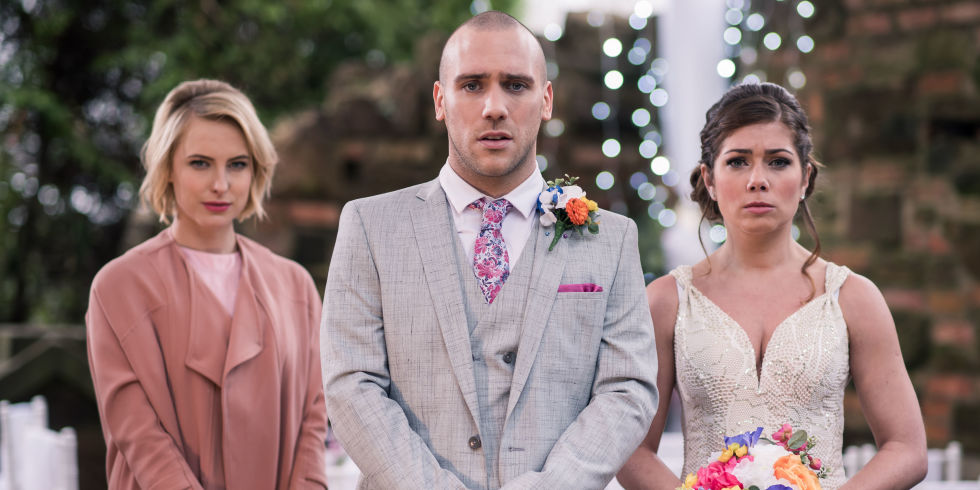 Maxine Minniver And Adam Donovan S Wedding Day In Hollyoaks