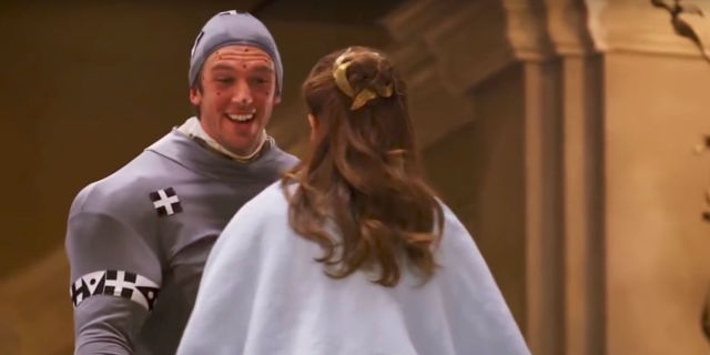 Beauty And The Beasts Dan Stevens Looked Ridiculous While Filming