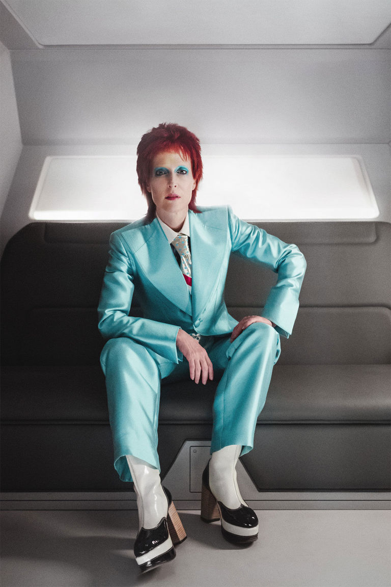 Gillian Anderson as David Bowie, American Gods
