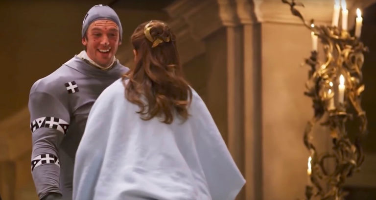 Dan Stevens Emma Watson Beauty And The Beast CGI Bts
