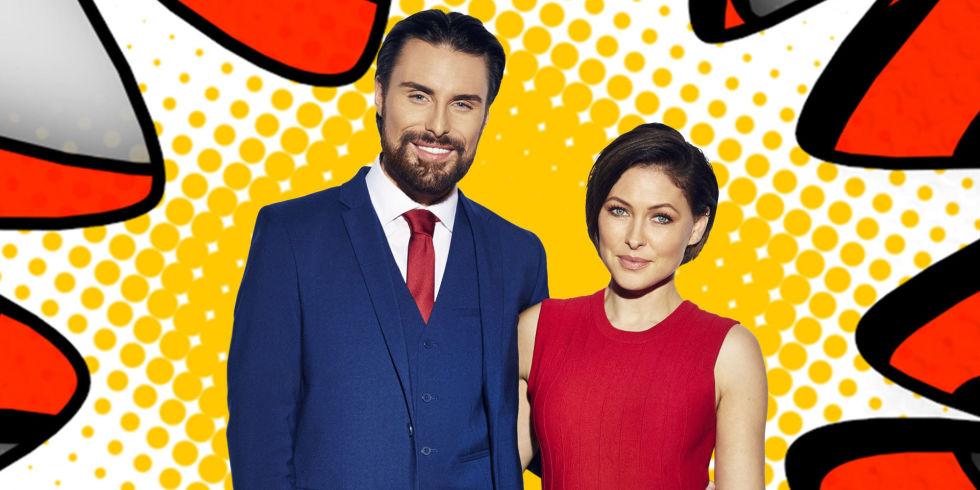 Celebrity Big Brother January  Hosts Rylan Clark Neal And Emma Willis