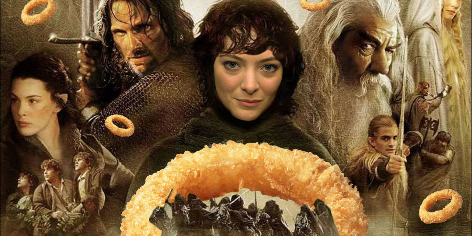 Lorde unmasked as owner of onion ring rating Instagram
