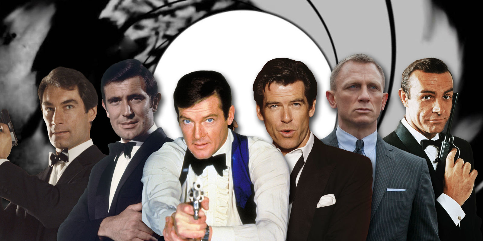 Ranking Every James Bond By Acting Ability