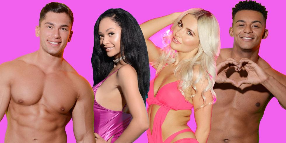 New Love Island contestantsm, 2017, Marino, Ellisha-Jade, Chyna, Nathan