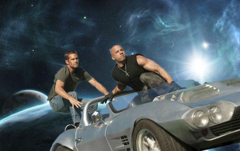 Fast and Furious, Space, Paul Walker, Vin Diesel