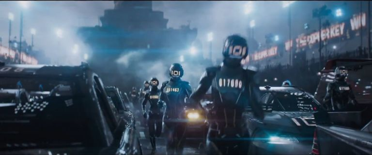Image result for ready player one 2018 movie scenes