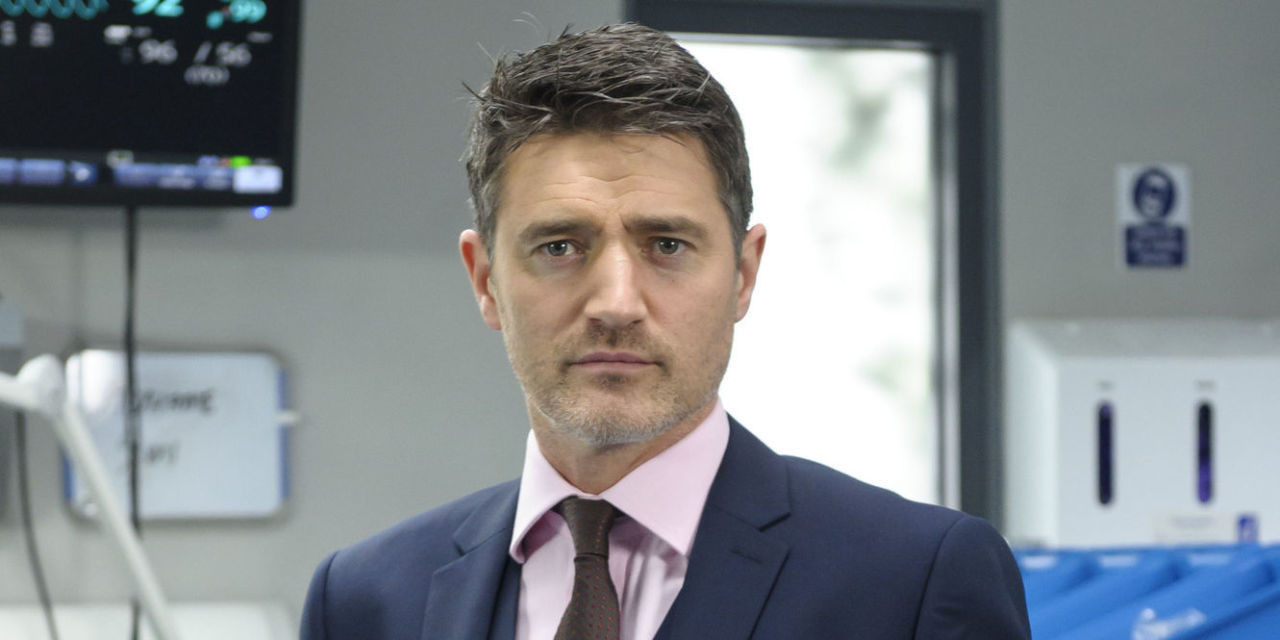 Casualty actor Tom Chambers defends Derek Thompson s big BBC salary