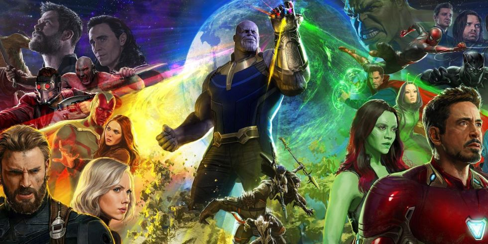 avengers infinity war comic con poster revealed sunday july 24
