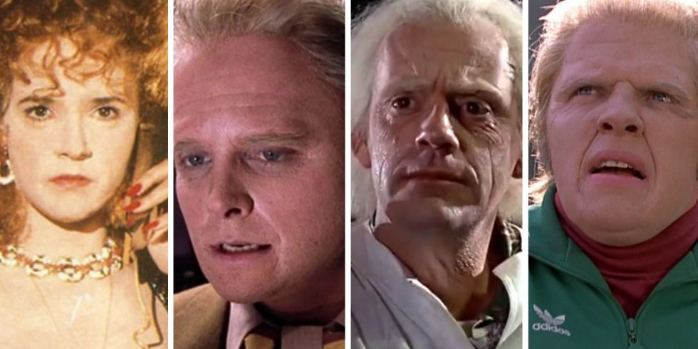 back to the future makeup cast - Christmas Story Cast Then And Now