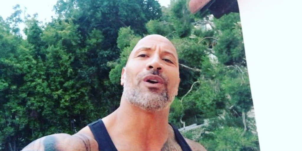 Dwayne 'The Rock' Johnson unveils awesome grey beard and starts calling himself Uncle DJ