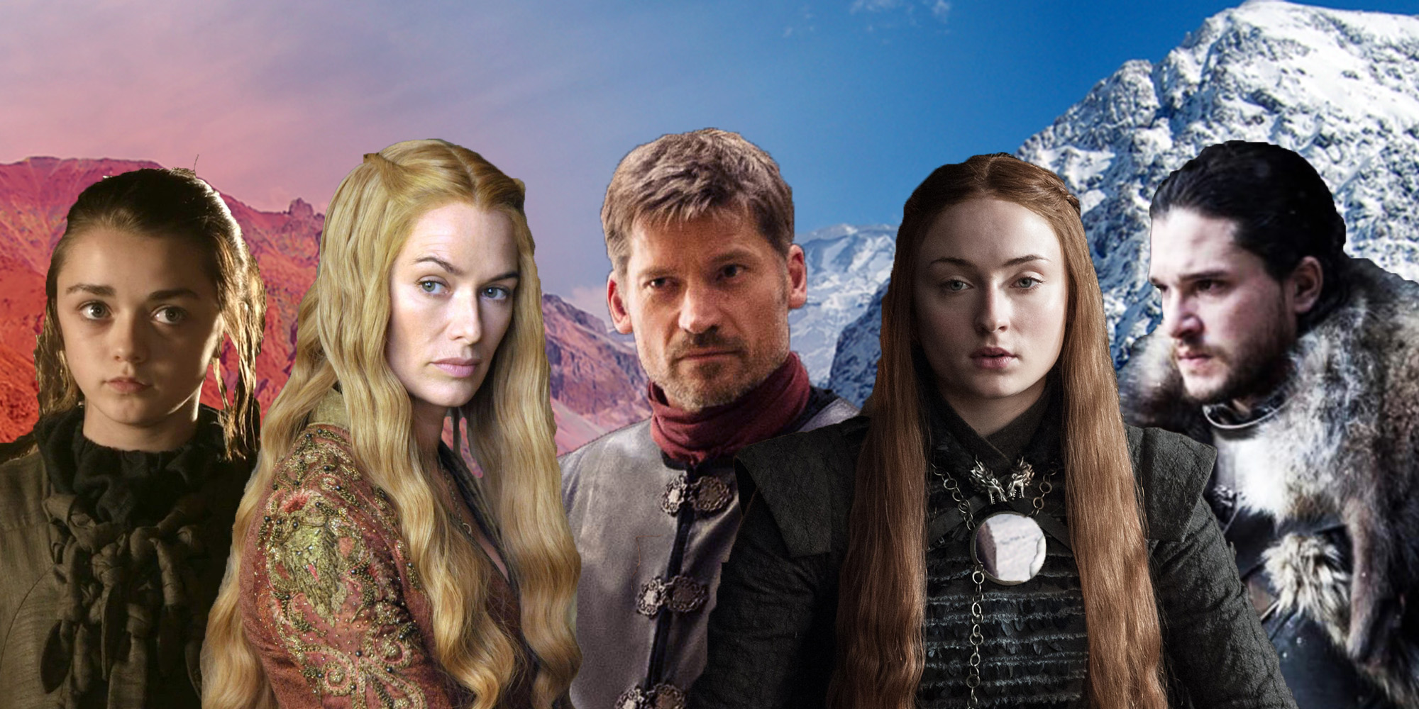 See how Game of Thrones' cast have aged since season 1 ...