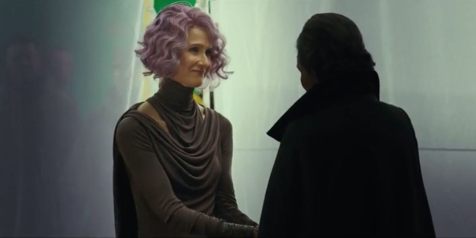 Laura@nubiles.net Laura Dern's Star Wars: The Last Jedi character might be trouble for  General Leia