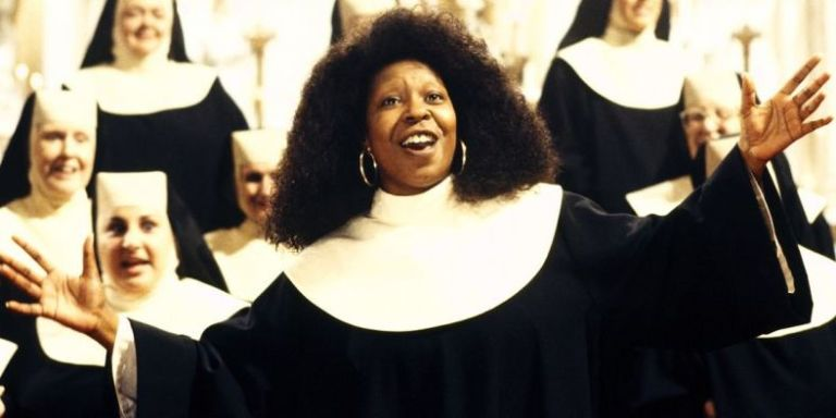 whoopi goldberg in sister act - The Christmas Choir Cast