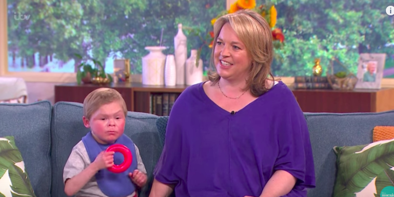 This Morning shows 'teen trapped in a toddler's body'