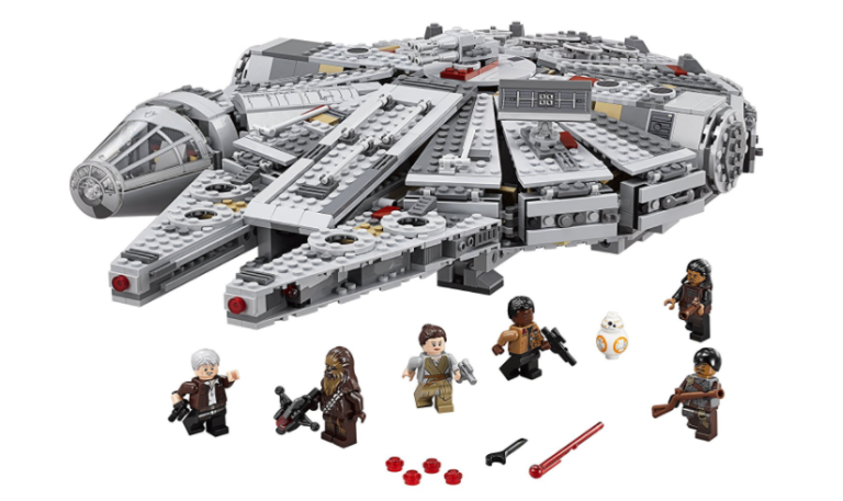 A new Star Wars LEGO Millennium Falcon set is the biggest one in ...