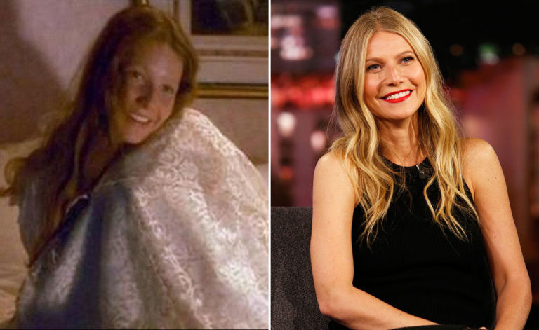 Gwyneth Paltrow young Wendy Darling Hook then and now