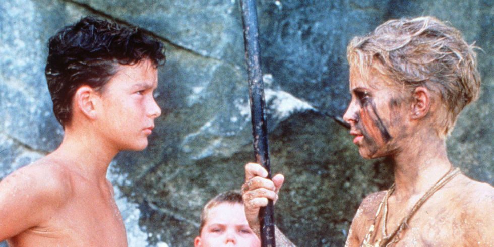 all female lord of the flies remake sparks criticism balthazar getty chris furrh lord of the flies 1990