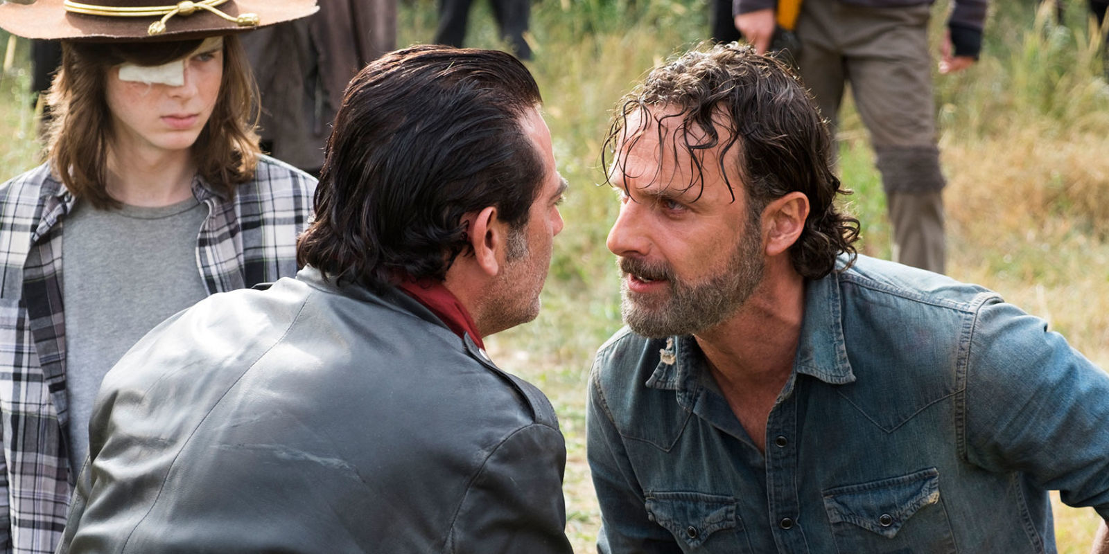 twd morgan and rick meet