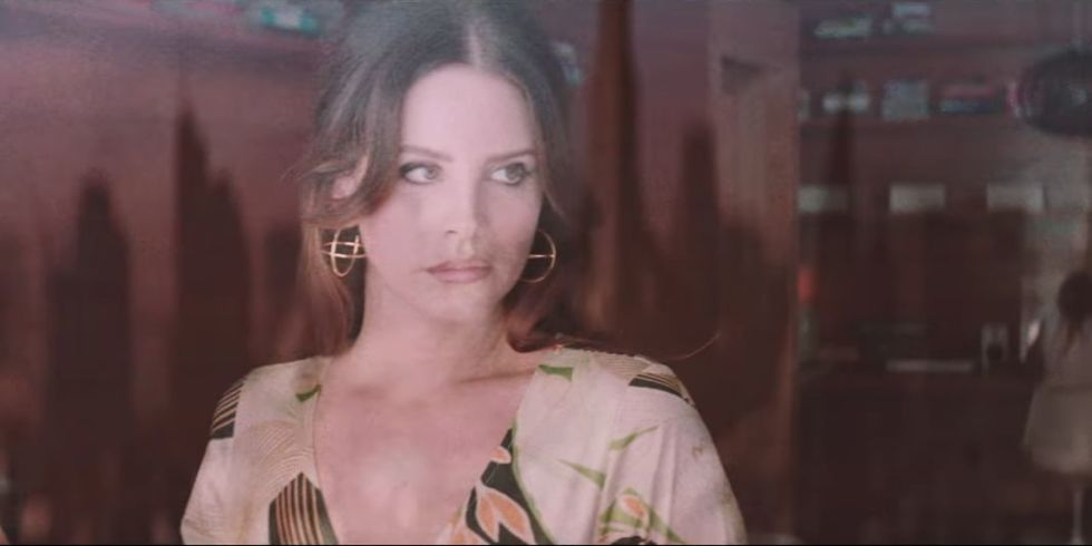 Lana Del Rey's 'White Mustang' might be the weirdest music video ...
