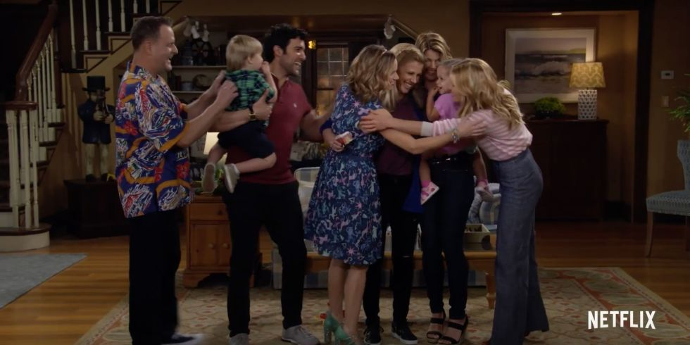 Fuller House Season 3 Family   Trailer Screen Grab. © Netflix