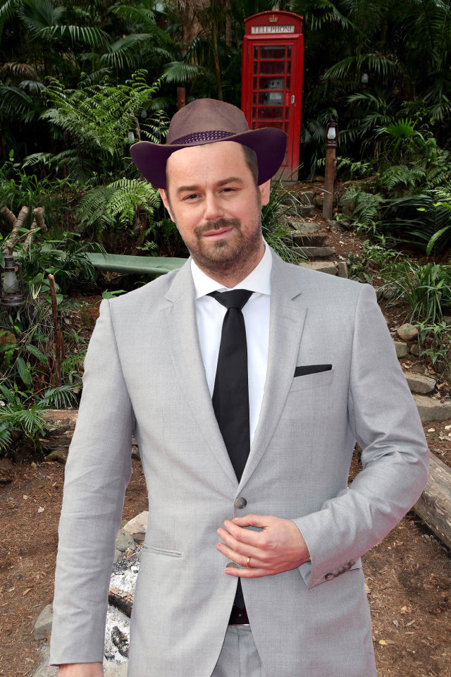 PHOTOSHOP Danny Dyer, I'm a celeb rumours