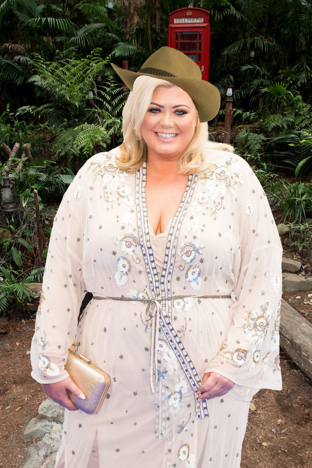 PHOTOSHOP Gemma Collins, I'm a celeb rumours