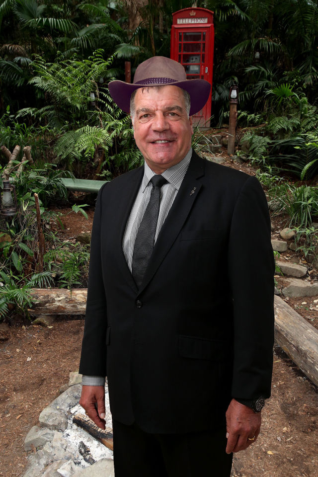 PHOTOSHOP Sam Allardyce, I'm a celeb rumours