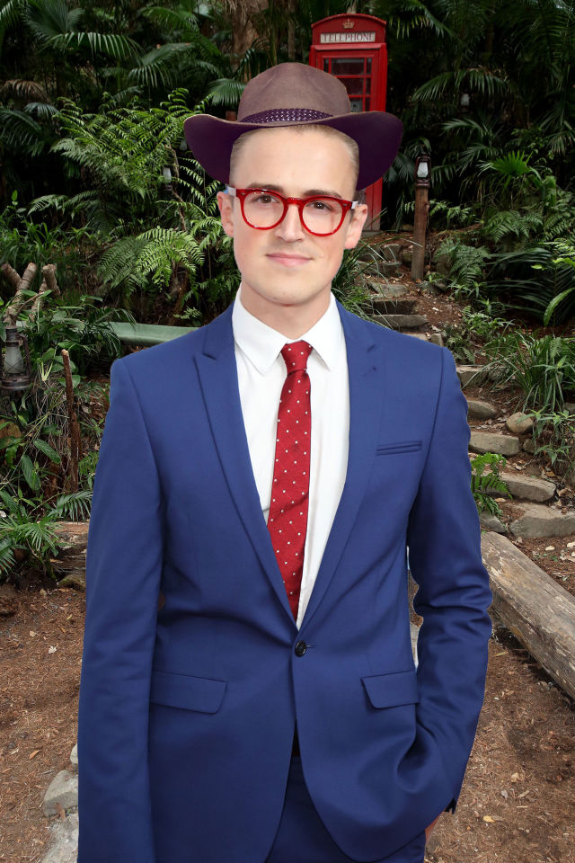 PHOTOSHOP Tom Fletcher, I'm a celeb rumours