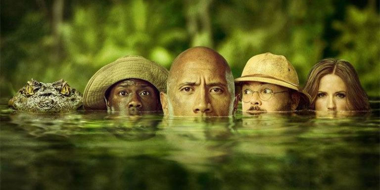 Jumanji 23 cast plot release date and everything you need to know jumanji welcome to the jungle poster stopboris Gallery