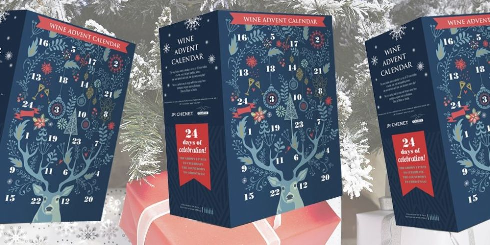 aldi has launched its own wine advent calendar. Black Bedroom Furniture Sets. Home Design Ideas