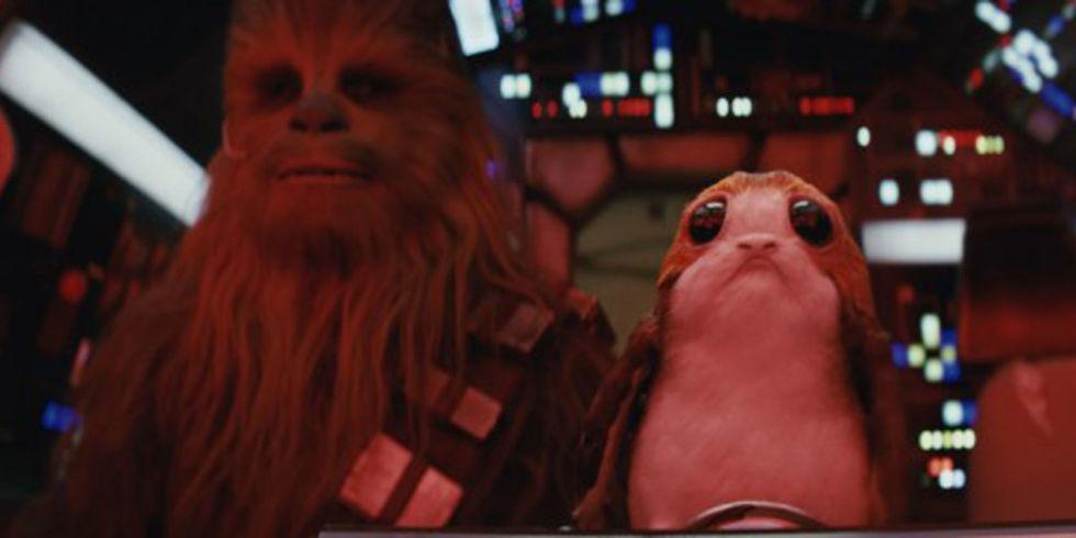 Assez Star Wars fan recreates theme tune using only Porg sounds LX03