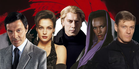Every Bond villain, ranked worst to best