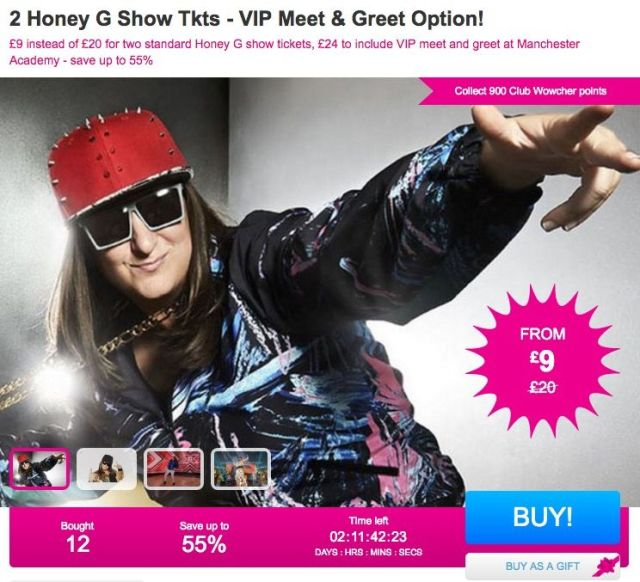 Honey g meet and greet tickets selling for just 12 honey g m4hsunfo