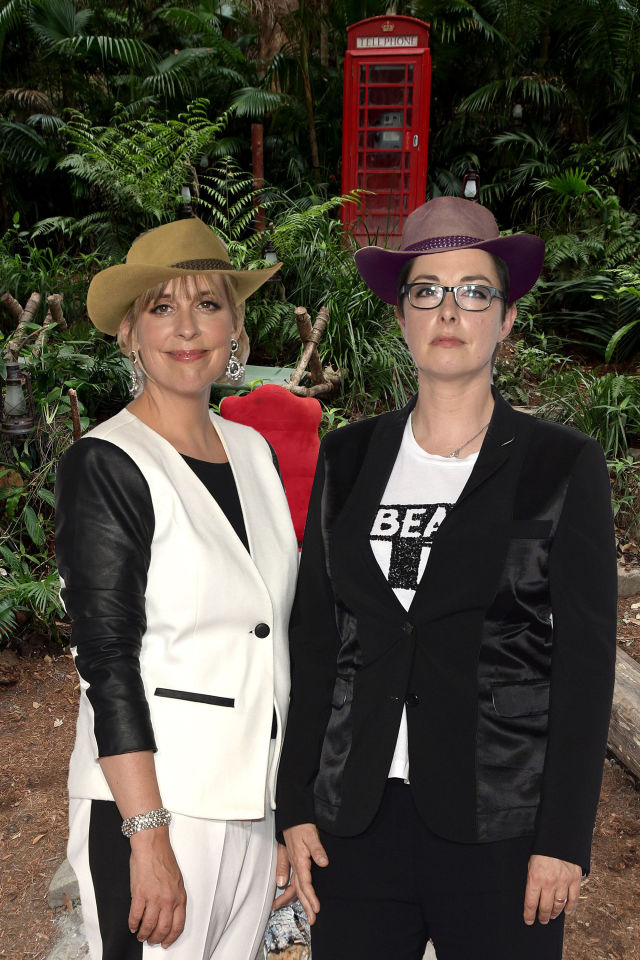 PHOTOSHOP Mel Giedroyc, Sue Perkins, Im a celeb rumours