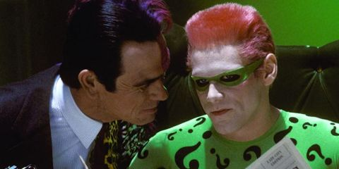 Jim Carrey thinks he knows why Tommy Lee Jones hated him during Batman Forever