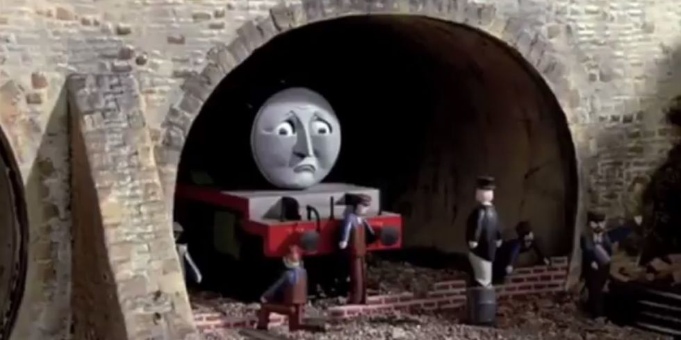 Super Bleak Thomas The Tank Engine Clip
