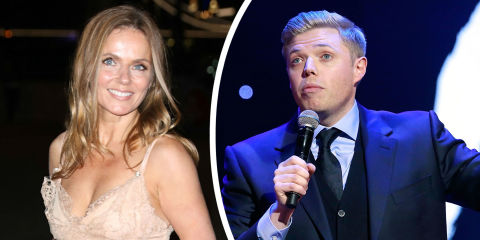 Could Spice Girl Geri Horner team up with comic Rob Beckett for new BBC competition?