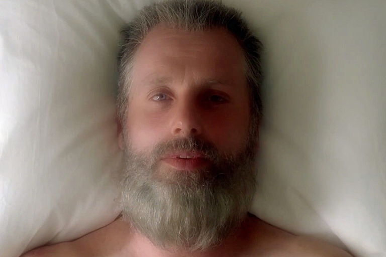 Old Man Rick in 'The Walking Dead'