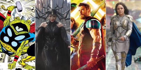 Thor: Ragnarok Easter eggs
