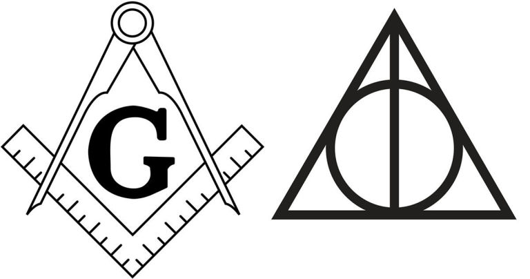 Jk Rowlings Inspiration For Harry Potters Deathly Hallows Symbol