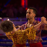 Aston Merrygold and Janette Manara Strictly Come Dancing (4 November)