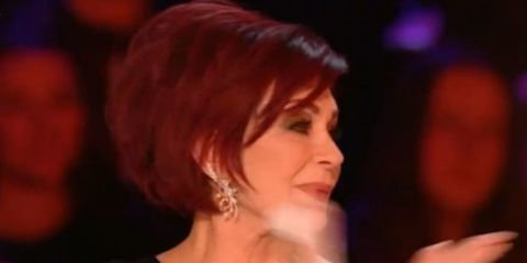 Sharon Osbourne breaks down about X Factor performance because she was reminded of George Michael