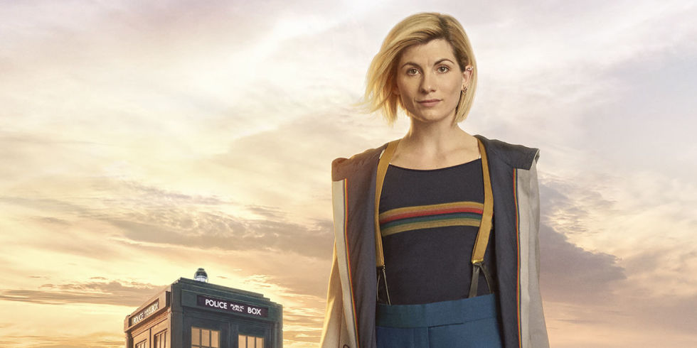 Jodie Whittaker in u0027Doctor Whou0027 series 11  sc 1 st  Digital Spy & Doctor Who fans react to Jodie Whittakeru0027s costume - and compare her ...
