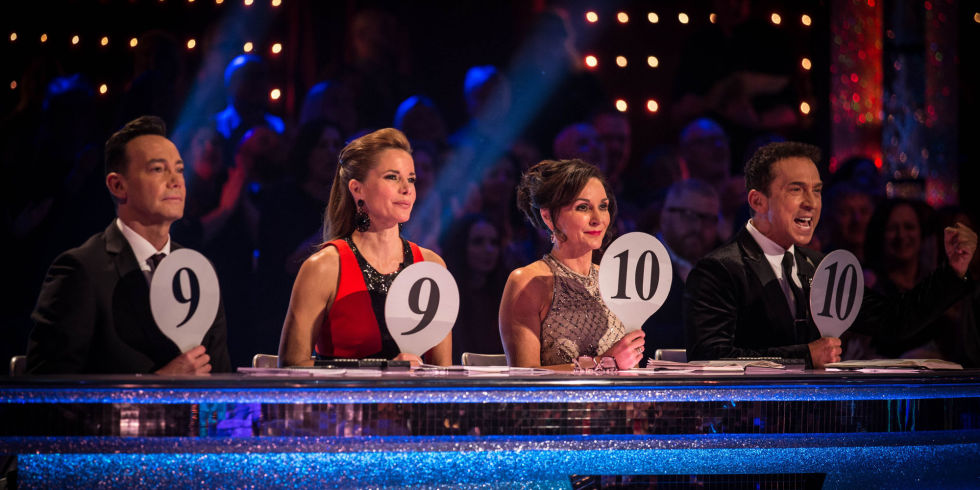 Strictly Judges Craig Revel Horwood Darcey Bus Shirley Ballas Bruno Tonioli