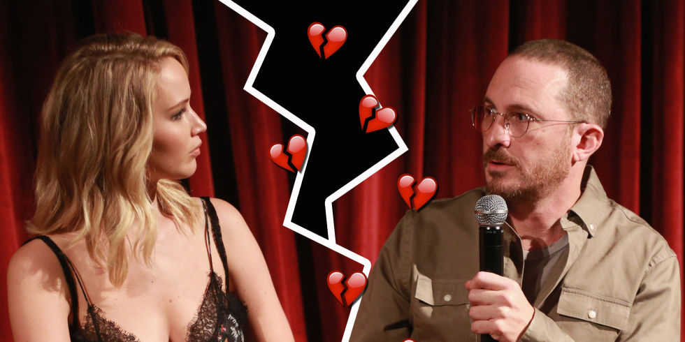 Actress Jennifer Lawrence and director Darren Aronofsky split after a year of relationship