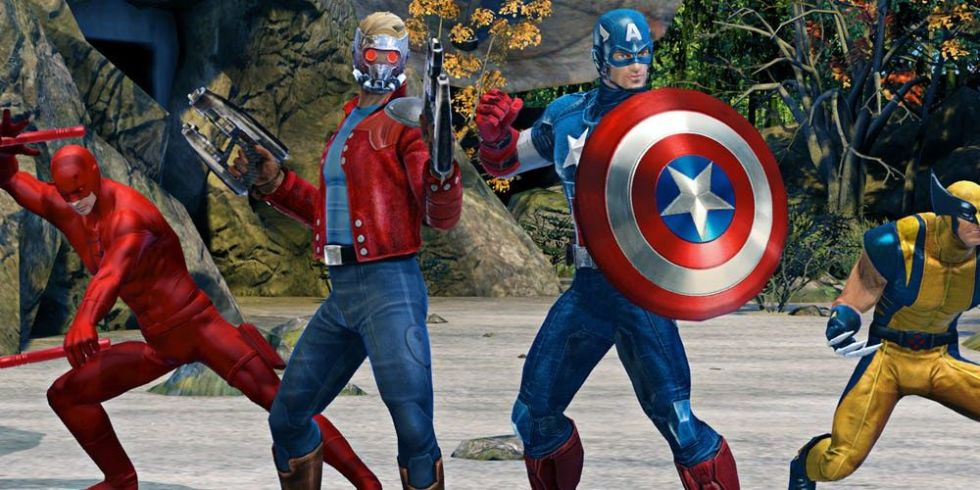 Marvel Heroes Characters Game